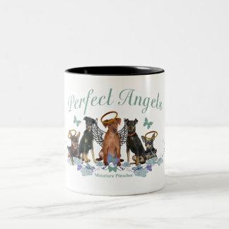 Tazas perfectas de los ángeles del Pinscher miniat