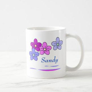 Tazas personalizadas de la flor