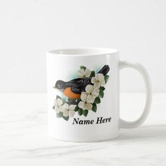 Tazas personalizadas del pájaro