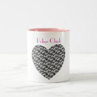 Tazas personalizadas personalizado del corazón de