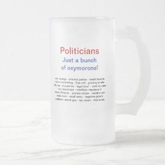 Tazas políticas divertidas del humor