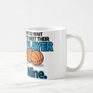 Tazas preferidas del baloncesto del jugador