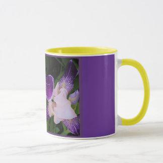 Tazas púrpuras adaptables de la flor