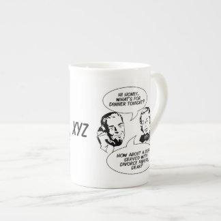 Tazas RETRAS del personalizado de los TEBEOS Taza De Porcelana