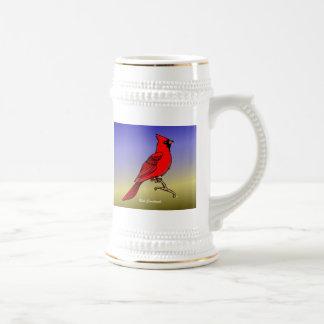 Tazas rojas y Mousepads del cardenal rev.2.0