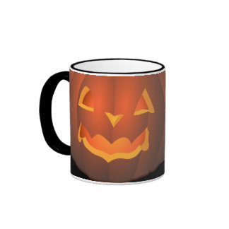 tazas/tazas de la calabaza de Halloween de la taza