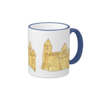 Tazas y Drinkware del castillo de la arena