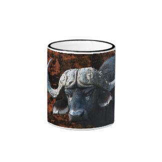 Tazas y tazas de café del arte de la fantasía del