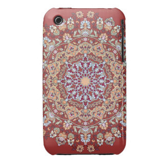Tazhib of the Persian art with red bottom sends it iPhone 3 Cover