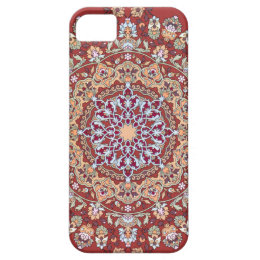 Tazhib of the Persian art with red bottom sends it iPhone SE/5/5s Case