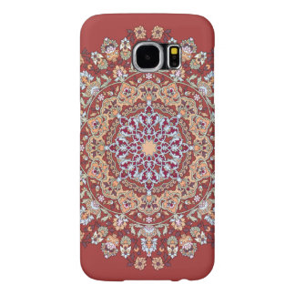 Tazhib of the Persian art with red bottom sends it Samsung Galaxy S6 Case