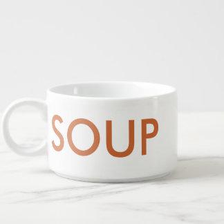 Tazón de la taza del arte de la palabra del