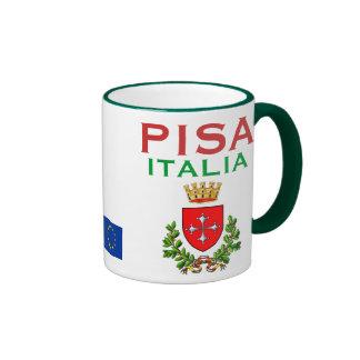 Tazza de la taza/de Pisa de Pisa*, Italia Taza De Dos Colores