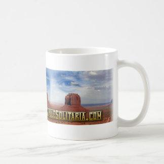 """Tazza """"Il cavaliere della Valle Solitaria"""" Classic White Coffee Mug"""