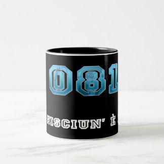 Tazza_Ita_081 Napoli Black Two-Tone Coffee Mug