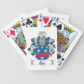 Tazzi Family Crest Poker Cards