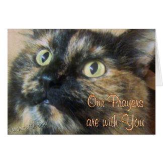Tazzie Prayers-customize Greeting Card