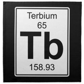 Tb - Terbium Cloth Napkin