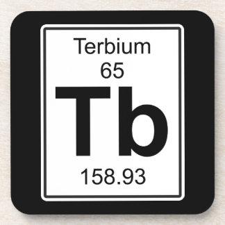 Tb - Terbium Drink Coaster