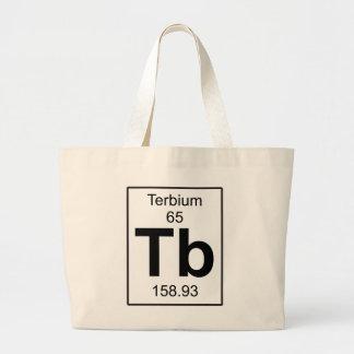 Tb - Terbium Large Tote Bag