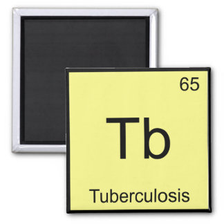 Tb - Tuberculosis Funny Chemistry Element Symbol T Magnet