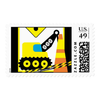 {TBA} 20 Postage Stamps Construction