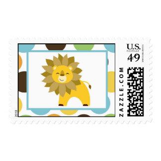 {TBA} 20 Postage Stamps Jungle King Lion Safari