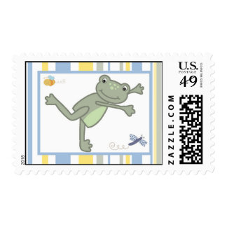 {TBA} 20 Postage Stamps Leap Frog Turtle Bee