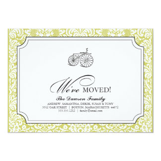 {TBA} a bicycle built for two {we've moved} Card