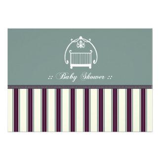{TBA} Adorable Designer Baby Shower Invitation 17