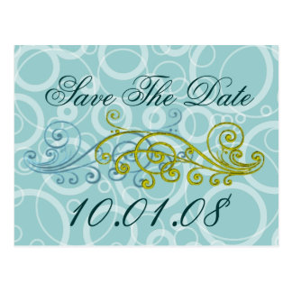 TBA AWARD Winner- Save The Date Postcard