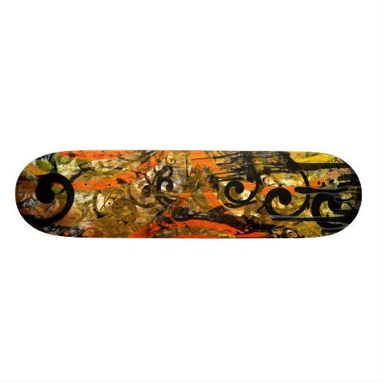 TBA Award Winner Spilt Paint - Swirled Skateboard Deck