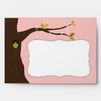 {TBA} Baby Tree Sign Custom Envelope (pink)