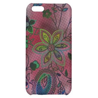 {TBA} Bohemian Floral iPhone 4 Case (magenta)