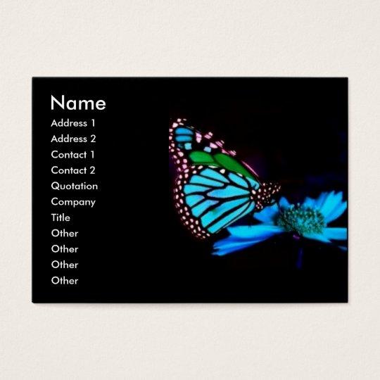 -TBA - Butterfly in Blue Light Business Card
