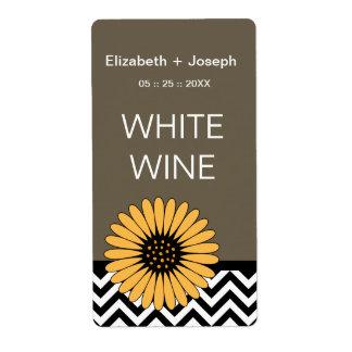 (TBA) Etiquetas del vino de la margarita y de Chev Etiquetas De Envío