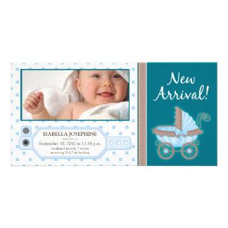 {TBA} Hospital ID Tag Baby Birth Announcement