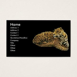 -TBA - Jaguar Business Card