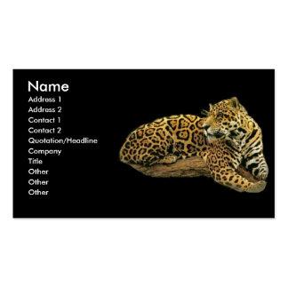 - TBA - Jaguar Tarjetas De Visita