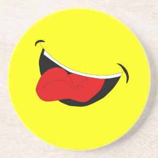 TBA Laughing Mouth Coaster