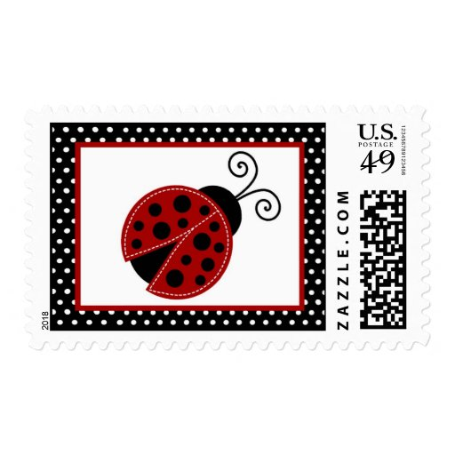 {TBA} mariquita rosada de 20 sellos