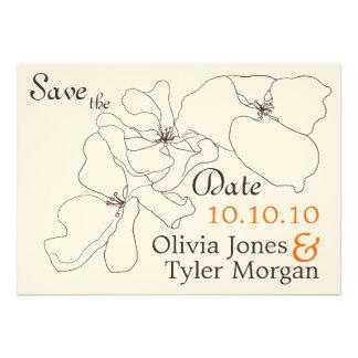 {TBA} Modern Classic Save the Date Custom Invites