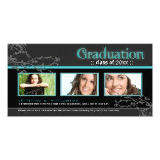 {TBA} Mystic Goth Graduation Announcement (aqua)