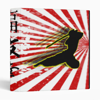 [TBA] Ninja Warrior Vinyl Binder