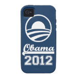 {TBA} OBAMA 2012 iPhone 4 Tough Case-Mate (navy) Case-Mate iPhone 4 Covers