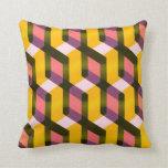 (TBA) pattern Throw Pillows