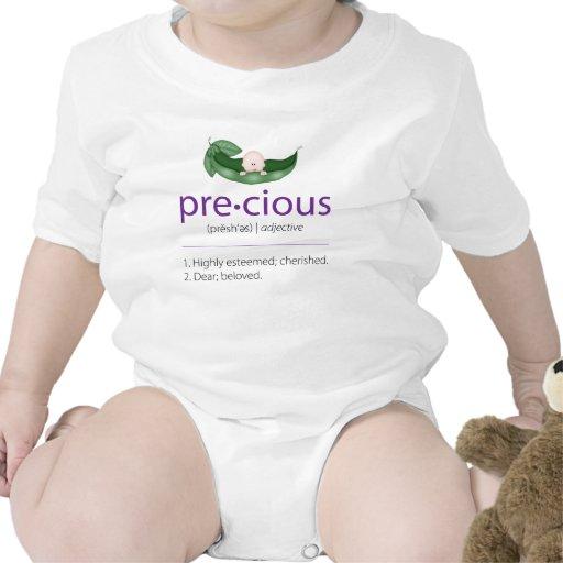 "{TBA} Purple ""Precious"" Pea-in-a-Pod Baby Tee"