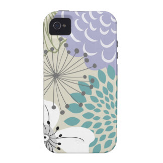 TBA Secret Garden iPhone 4 Casemate Vibe-turquoise iPhone 4/4S Cover