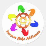 TBA Sticker (Round)