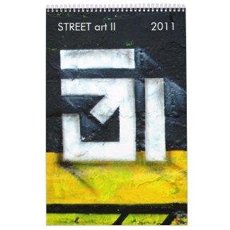 (TBA) STREET art II calendar
